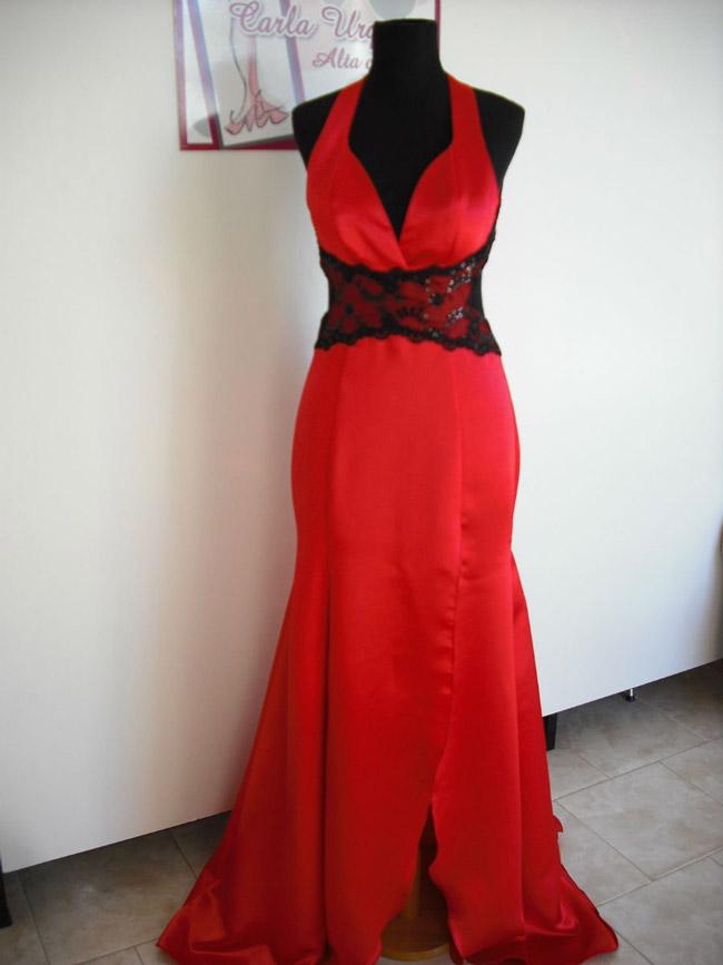 Vestido Sirena Rojo
