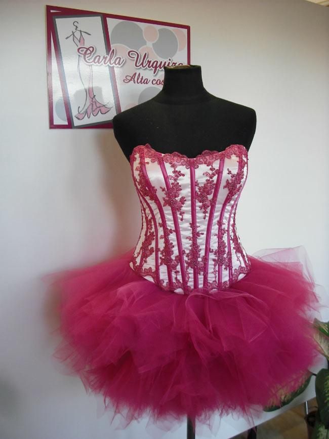 Vestido Corto De 15