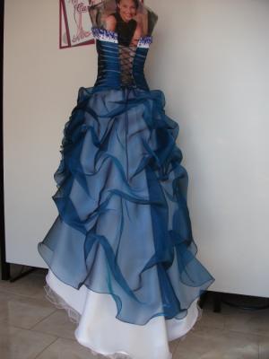 Vestido Quince Azul-Rio Cuarto