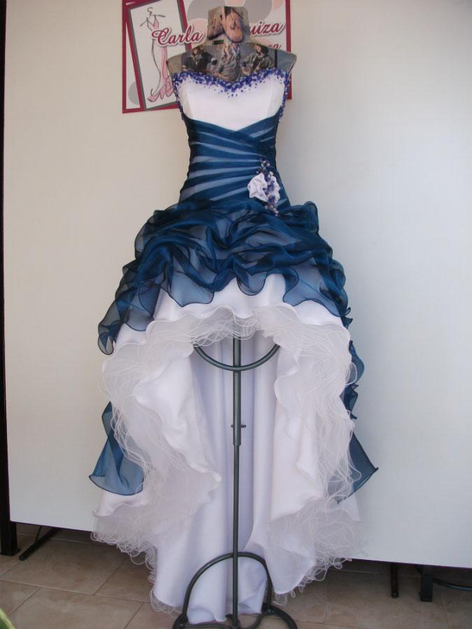 Vestido Quince Azul