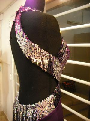 Vestido Sirena con paliet-Rio Cuarto