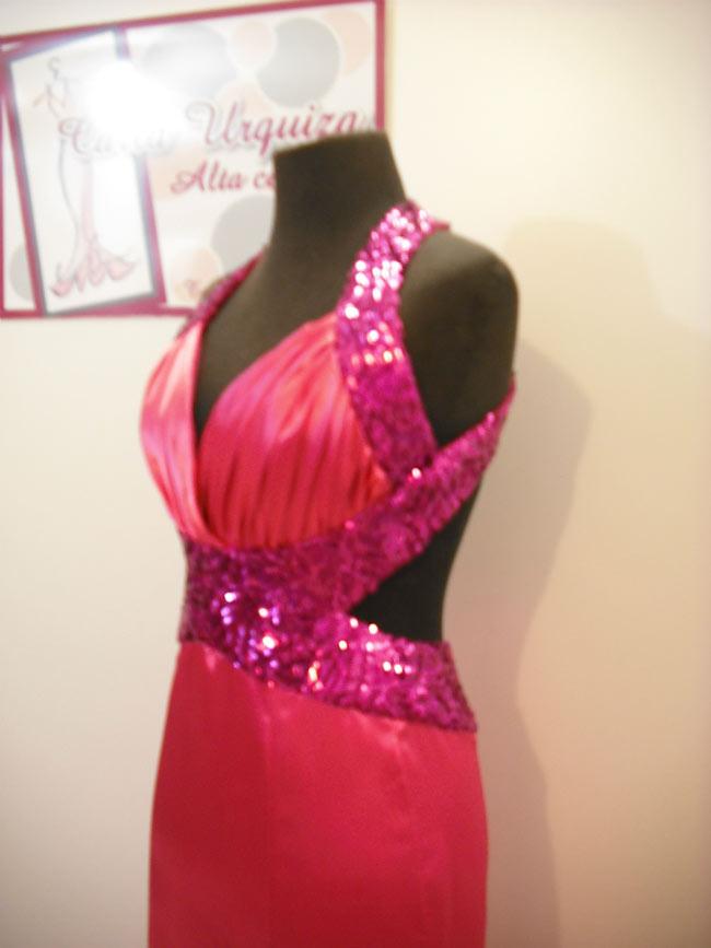 Vestido Sirena con busto drapeado