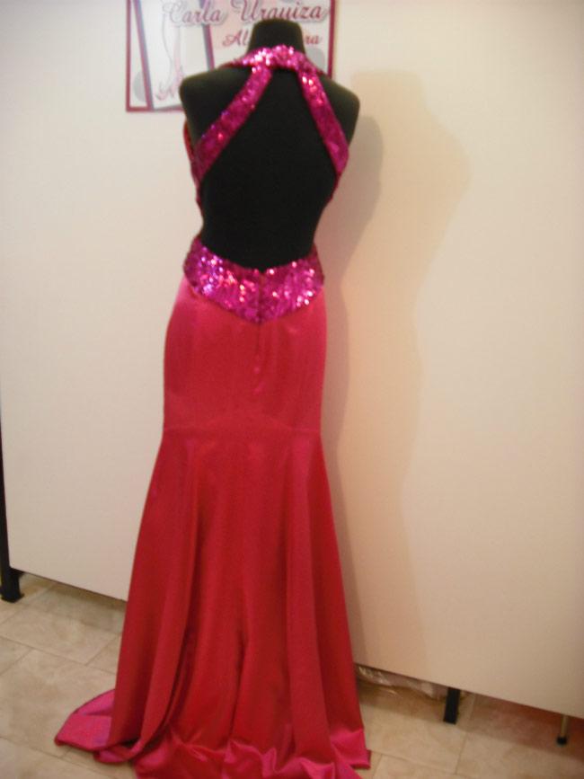 Vestido Sirena Drapeado