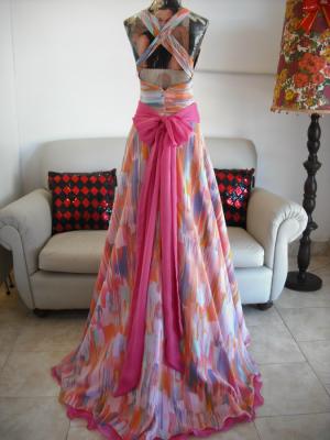 Vestido 15 estampado-Rio Cuarto