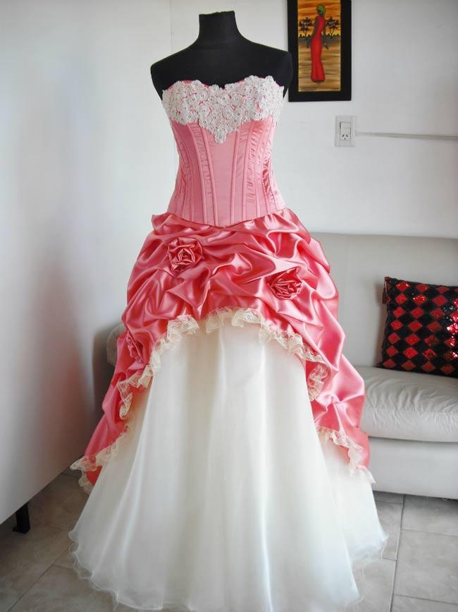 Vestido Quince Falda Desmontable