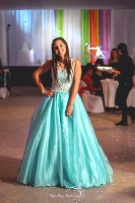 Vestido De 15 Corte Princesa