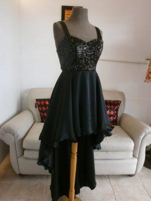 Vestido Negro-Rio Cuarto