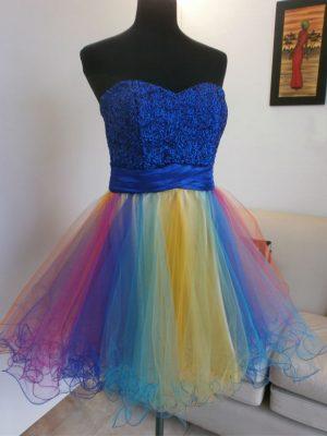 Elegir Vestido de 15-Colores Arco Iris