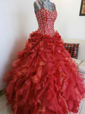 Elegir el Vestido de 15-Corset Bordado