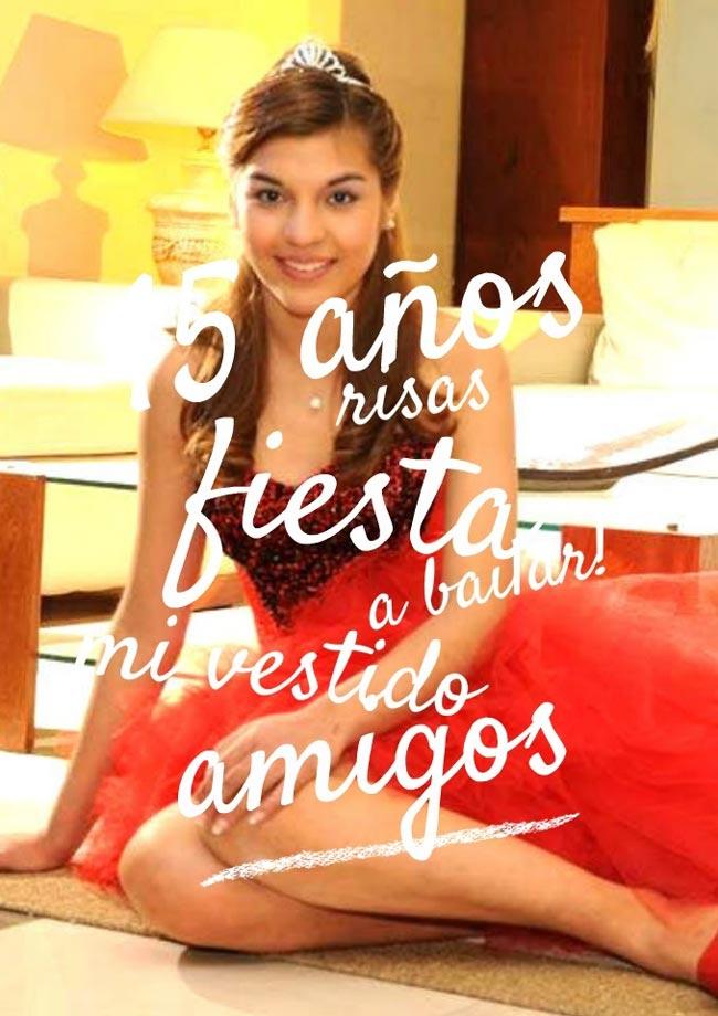 +3 Vestidos De 15 Rojos Largos Y Cortos